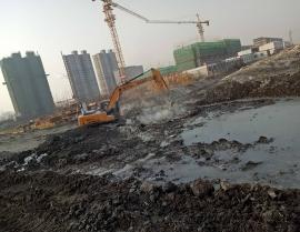 2018年连云港开发区翔海路施工现场