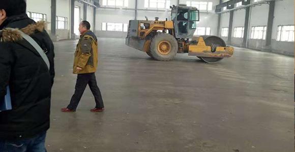 海州湾实业工业厂房施工后